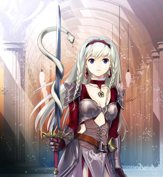 蛇と女騎士